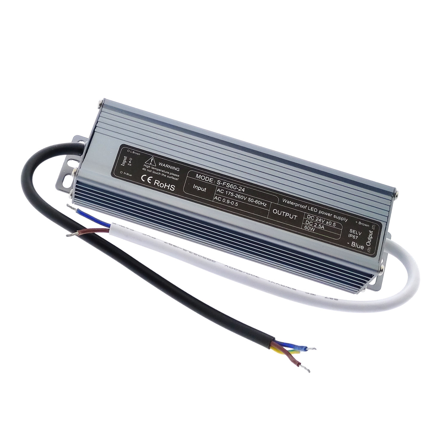 24V/60W/2.5A LED power source